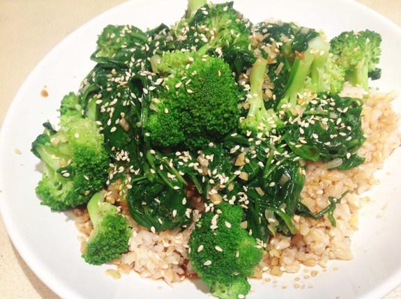 Броколли альолио – кулинарный рецепт