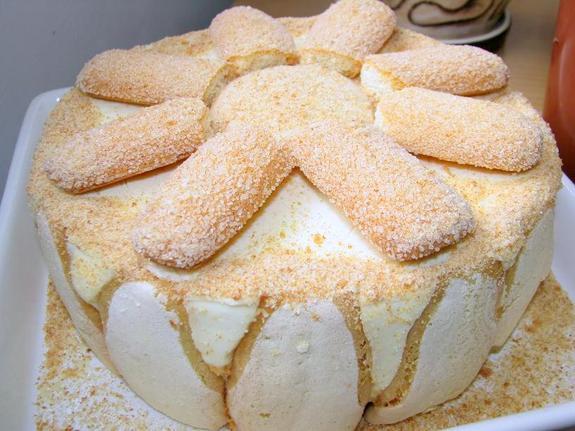 Торт наполеон с магазинным тестом