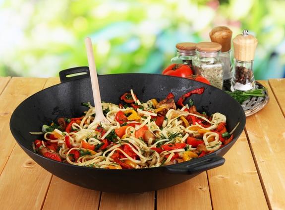 блюда в воке рецепты с фото