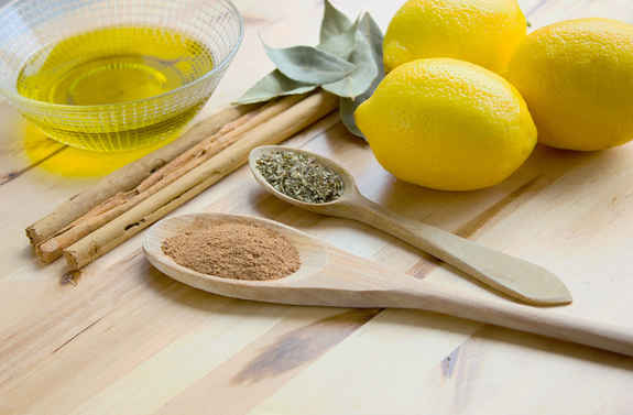 орегамо лимон масло специи