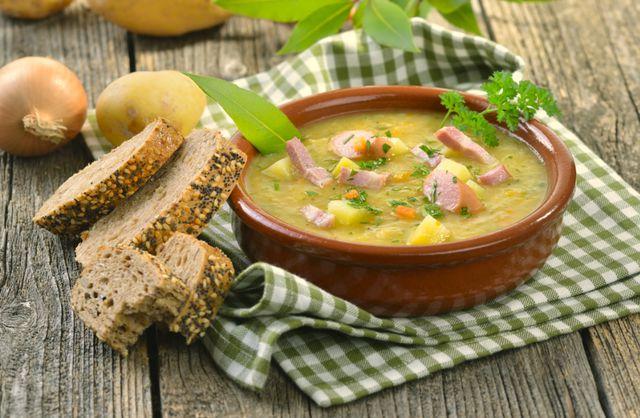 Вкусный суп из бобовых быстро восстанавливает витаминный запас организма зимой