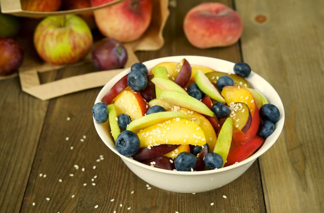 Яблоки создают вкусные сочетания почти со всеми фруктами
