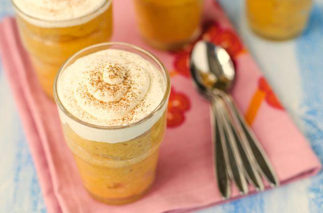 Утонченный десерт из тыквы, яблок и меда порадует многих гурманов