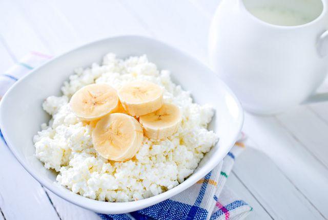 Творожно-банановая диета — одна из самых эффективных, за 3 дня можно скинуть 3–5 кг