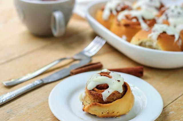 Рецепты булочек с корицей как синнабон, Официальный сайт кулинарных рецептов Юлии Высоцкой