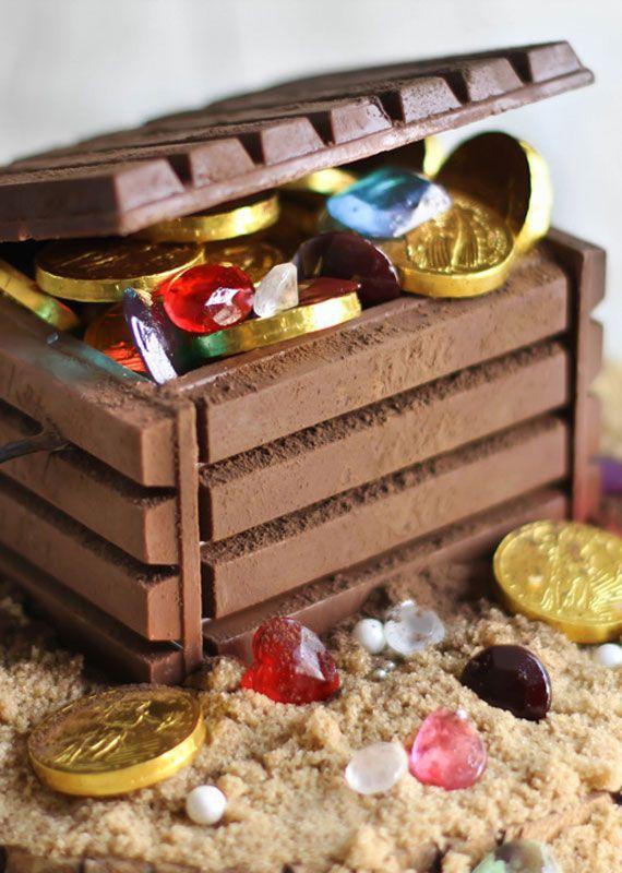 Фото: pinterest. Шоколадный сундучок