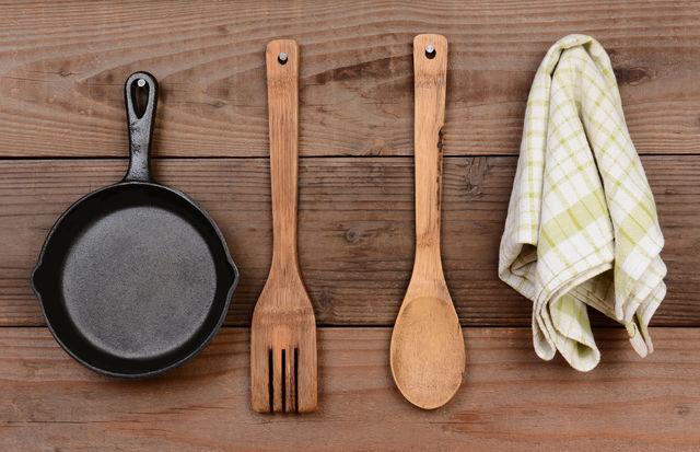 Чугунная сковорода для блинов