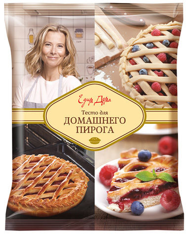 Тесто для домашних пирогов «Едим Дома»