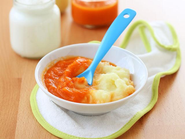 Морковное пюре для грудничка своими руками 43
