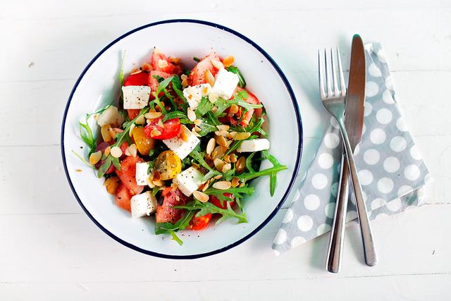 Охладите салат, и он произведет настоящий фурор