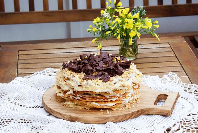 Этот незатейливый, но вкусный десерт понравится всей семье