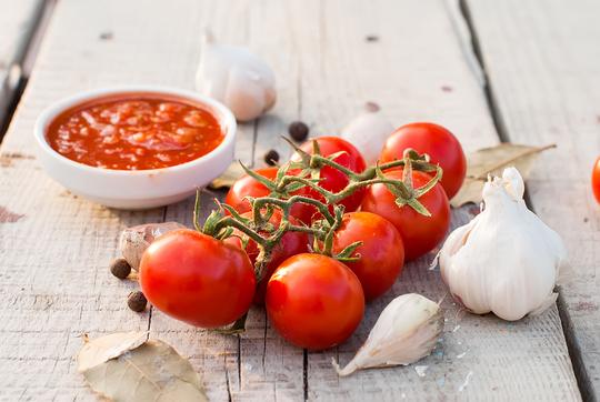 Быстрое томатное пюре на заморозку