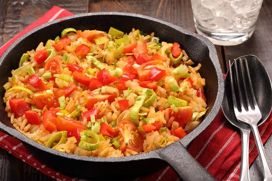 Это блюдо можно подавать на гарнир к чему угодно или наслаждаться им просто так