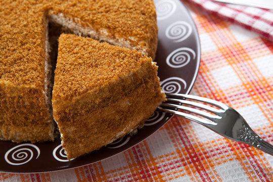 Мастер-класс: торт медовик в домашних условиях