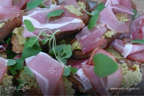 бутерброды из багета в духовке рецепт