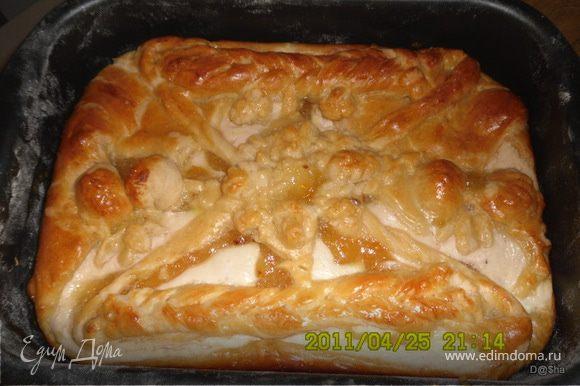 пирог в духовке с джемом рецепт с фото