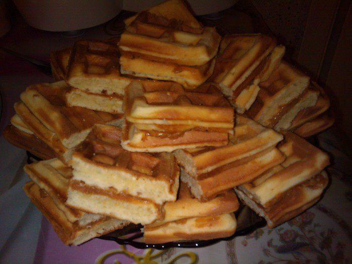 венские вафли рецепт без вафельницы