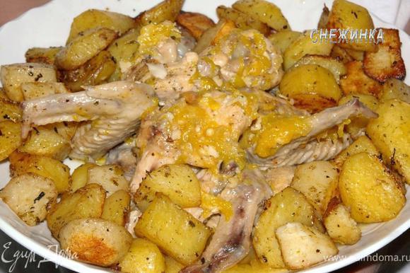 крылышки с соусом в духовке рецепты с фото