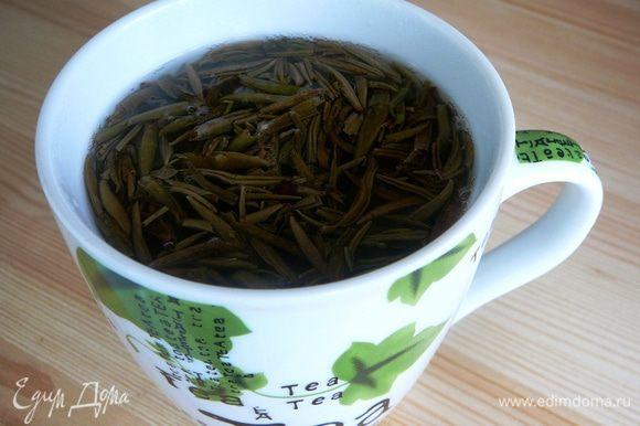 синий чай википедия