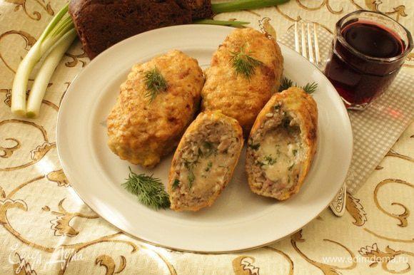 Подавать с любым гарниром или овощным салатом. Приятного вам аппетита!
