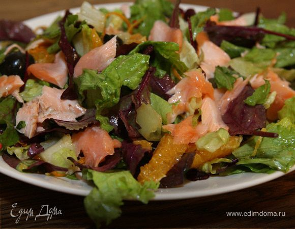 Салат из семги и рецептами