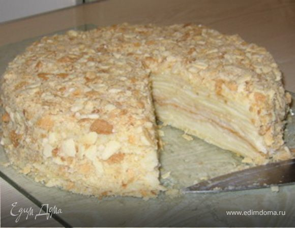 Рецепт торт наполеон домашний фото