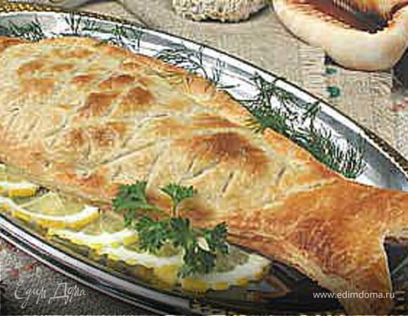 Рыба запеченная в тесте рецепт с фото пошагово