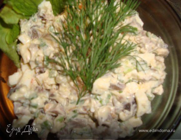 салаты с рецепт с фото пошагово