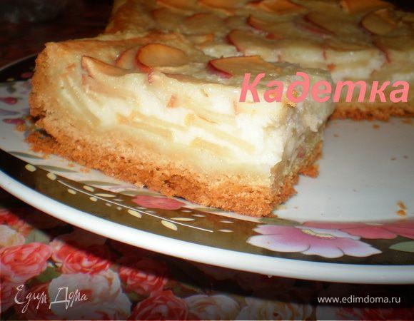 Пирог с маргарина и грушами рецепт