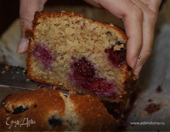 пирог с брусникой и сметаной рецепт мультиварка