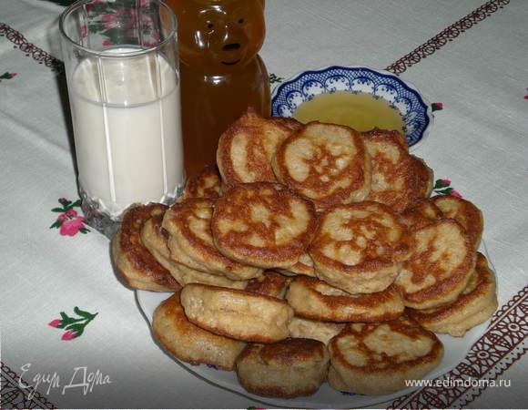 Оладьи из гречневой муки рецепт с пошагово