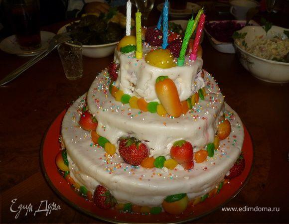 Рецепты тортов с фото на праздники