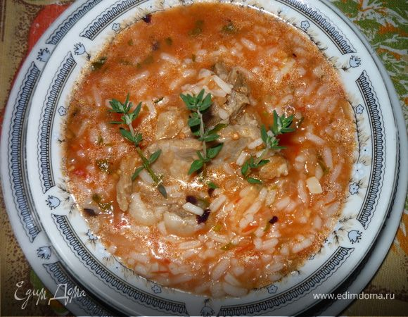 Как приготовить суп харчо в домашних условиях с фото