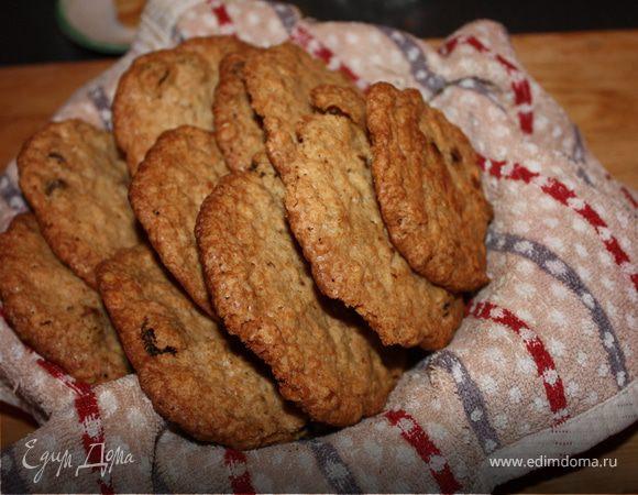 Рецепт английского овсяного печенья