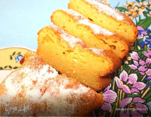 Кекс творожный от юлии высоцкой рецепт