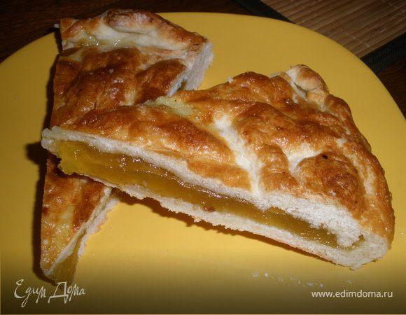 Пирог с лимоном из дрожжевого теста рецепт пошагово