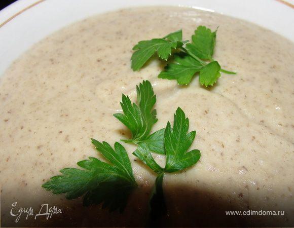 крем суп из шампиньонов рецепт от высоцкой