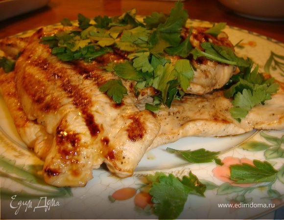 Филе индейки в соевом соусе на сковороде рецепт