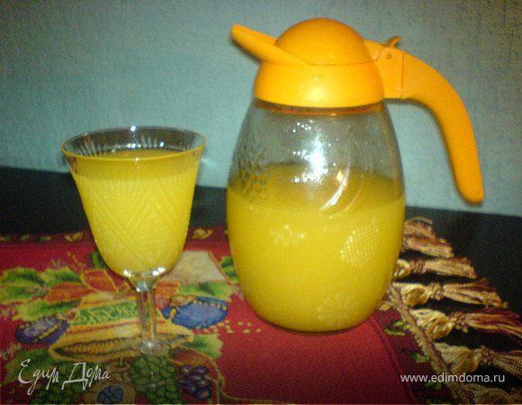 Приготовить сок апельсиновый в домашних условиях