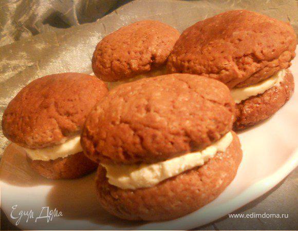 Печенье вупи рецепт пошагово с в