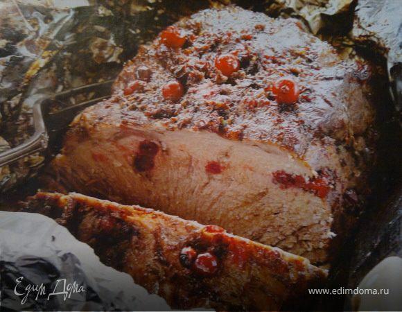 Свинина с клюквой рецепт с фото