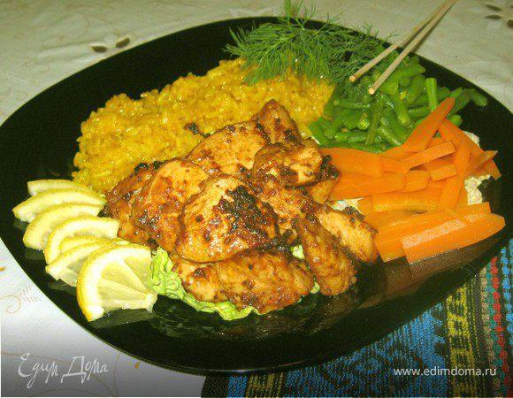 Куриное филе по корейски рецепт с фото