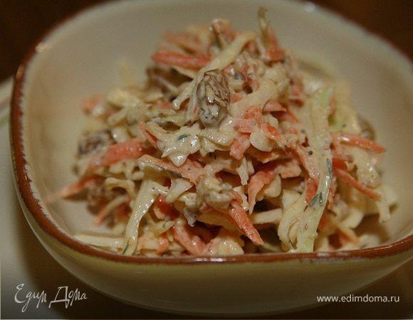 капустный салат с морковью рецепт с фото
