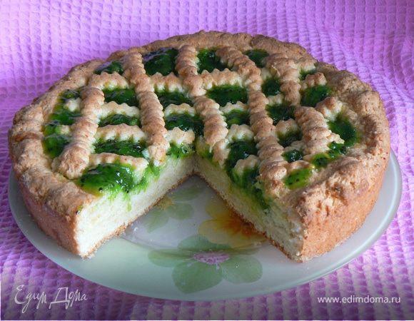 Рецепт пирога с киви с