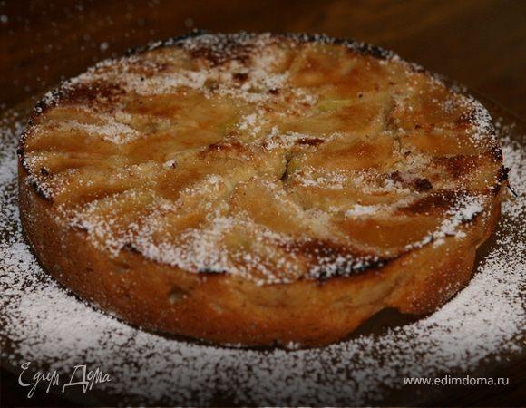 Яблочный пирог на плите рецепт с фото