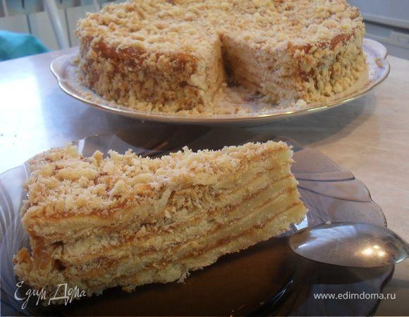 Торт рубленный с маскарпоне