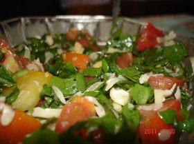 Салат с руколой кулинарные рецепты