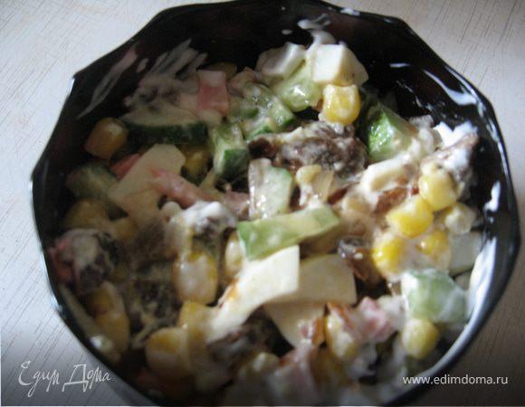 Салат лесник рецепт