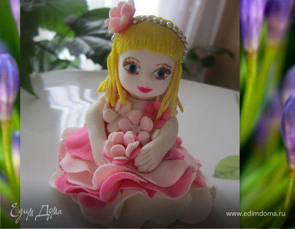 Как сделать куклу из мастики