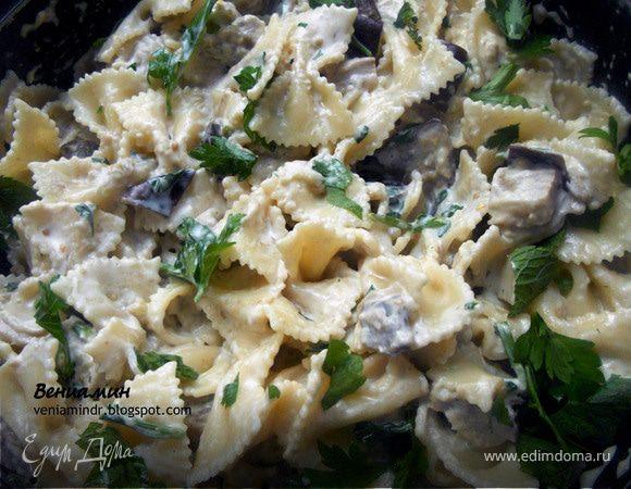 Макароны с сыром маскарпоне рецепты